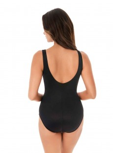 "Maillot de bain gainant Layered Escape Multicolor - Carnivale - ""M"" - Miraclesuit swimwear"