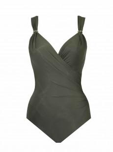"""Maillot de bain gainant Siren Vert - Razzle Dazzle - """"M"""" - Miraclesuit swimwear"""