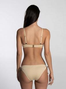 Haut de maillot de bain bandeau - Sparkles Gold - Cyell