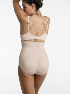 Culotte push-up gainante haute Nude - Booty Boost - Miraclesuit Shapewear