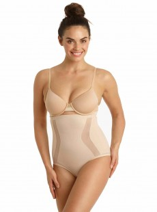 Culotte taille extra-haute nude - Middle manager - Cupid Fine Shapewear