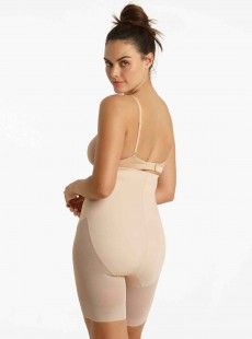 Panty gainant taille haute nude - Middle Manager - Cupid Fine Shapewear