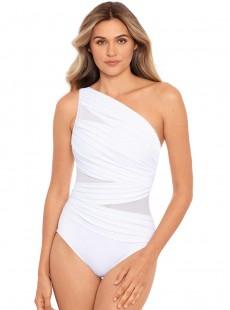 "Maillot de bain gainant Jena Blanc - Network - ""M"" - Miraclesuit Swimwear"