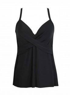 "Tankini Allura Noir - Rock Solid - ""M"" - Miraclesuit Swimwear"