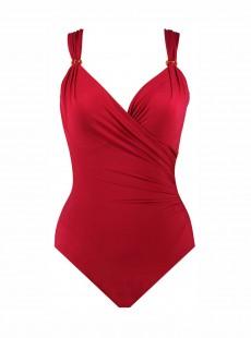 """Maillot de bain gainant Siren Rouge -Razzle Dazzle -  """"M"""" -Miraclesuit Swimwear"""