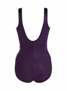 "Maillot de bain gainant Revele Violet - Rock Solid - ""M"" - Miraclesuit Swimwear"