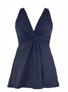 "Robe de bain gainante Marais Bleu nuit - Must haves - ""W"" - Miraclesuit Swimwear"