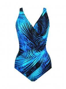 "Maillot de bain une pièce Oceanus Bleu -  Shadowcat - ""M"" - Miraclesuit Swimwear"