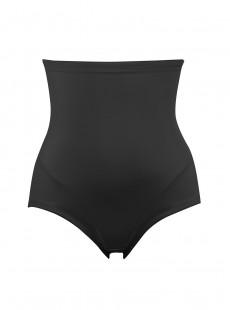 Culotte gainante taille haute noire - Luxe Shaping - Naomi & Nicole