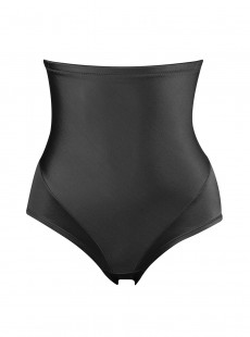 Culotte taille haute noire - Smooth Away - Naomi & Nicole