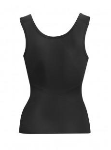 Ceinture gainante noire avec bretelles - Inches Off - Miraclesuit Shapewear