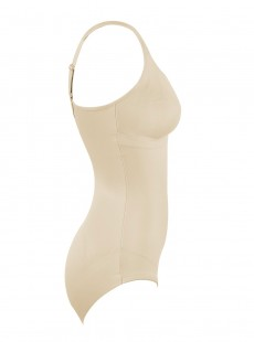 Body avec armature tissu nude - Flexible Fit - Miraclesuit Shapewear