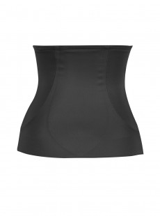Ceinture gainante noire avec doubles panneaux - Shape Away - Miraclesuit Shapewear