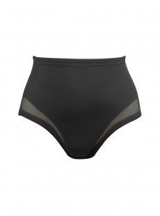 Culotte gainante haute noire extra-ferme - Sexy Sheer Shaping - Miraclesuit Shapewear