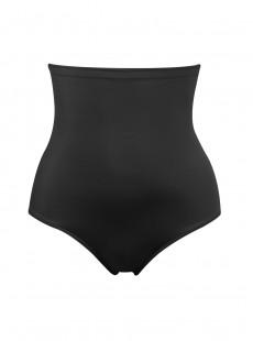 Culotte taille haute noire - Soft & Smooth - Naomi & Nicole