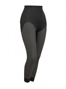 Legging gainant effet push-up noir - Sheer Rear Lifting - Naomi & Nicole